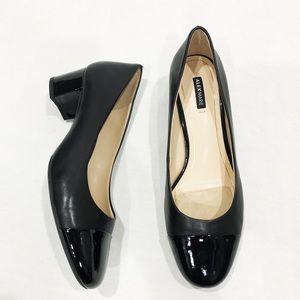 Alex Marie Cap Toe Block Heel Pumps size 8